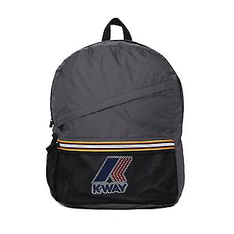 K-Way Le Vrais 3.0 Francois Grey Smoke Packable Backpack