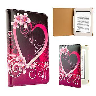 Progettazione libro custodia cover per Amazon Paperwhite E-Reader - amore cuore