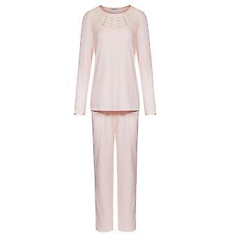 Feraud 3181312-11577 Women's Couture New Rose Pink Solid Colour Pajama Pyjama Set
