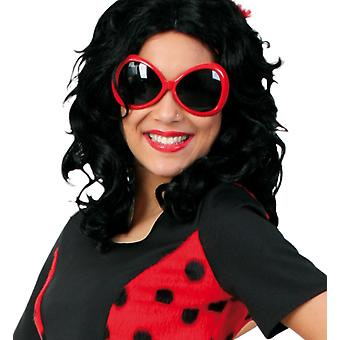 Ladybug glasses beetle prank bow accessory