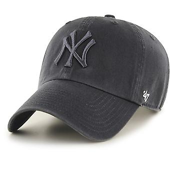 47 fire Adjustable Cap - CLEAN UP NY Yankees graphite
