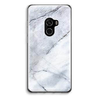 Xiaomi Mi Mix 2 Transparent Case (Soft) - Marble white