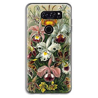 LG V30 Transparent Case - Haeckel Orchidae