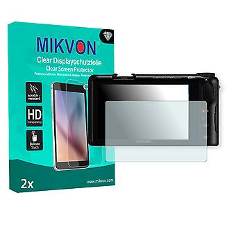 Samsung NX2000 Screen Protector - Mikvon Clear (Retail Package with accessories)
