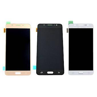 Roba certificata® Samsung Galaxy J5 2016 Display (LCD + Touch Screen + parti) A + qualità - nero / bianco / oro