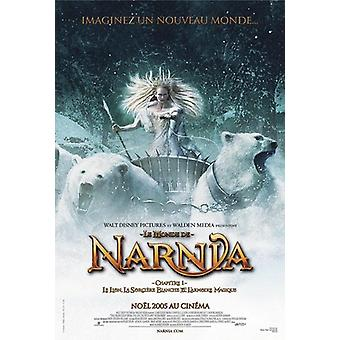The Chronicles of Narnia poster-French movie poster