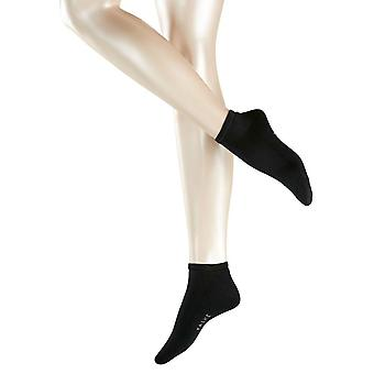 Falke Cosy Sneaker Socks - Black