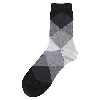 Chaussettes Burlington Bonnie - Black/Dark Grey/Light Grey