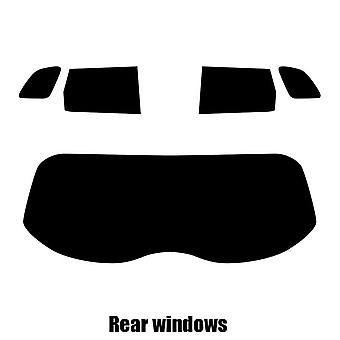 Pre gesneden venster tint - Suzuki Vitara - 2015 en nieuwer - achterzijde windows
