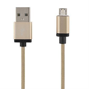 USB-Sync-/ Laddarkabel, Tuch, 3 m