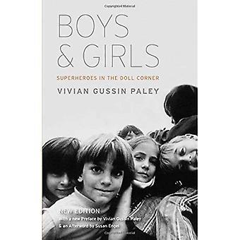 Pojkar och flickor: superhjältar i docka hörnet