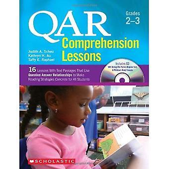 QAR begrip lessen: Grades 2-3:16 lessen met tekstpassages die gebruikmaken van vraag beantwoorden relaties te maken voor het lezen van strategieën beton voor Al