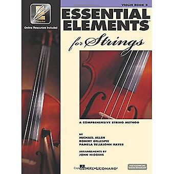 Essentials Elements 2000 For Strings: Violin: Book Two