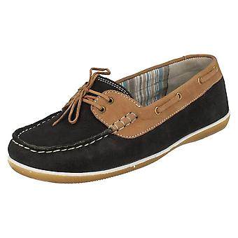 Ladies Padders Moccasin Style Shoes Marina
