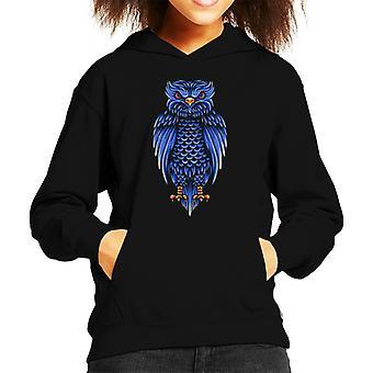 Blue Owl Kid's Hooded Sweatshirt
