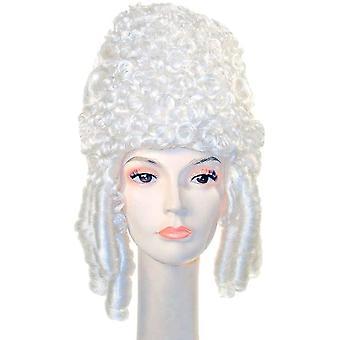 شعر مستعار ماري أنطوانيت الأبيض