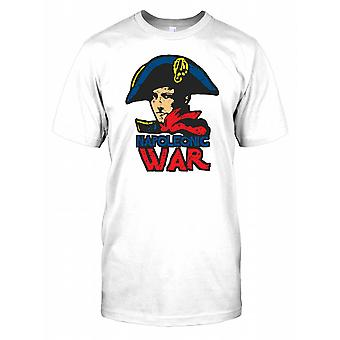 The Napoleonic War with Napoleon Mens T Shirt