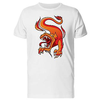 Orange Wyrm Tee Men's -Image by Shutterstock