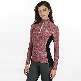 Horseware Womens Aveen Tech Top Baselayer Compression Armor Thermal Skins High