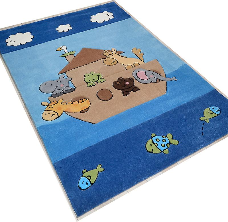 Rugs - Children\'s Ark - Blue - 3265
