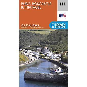 Bude - Boscastle and Tintagel (September 2015 ed) by Ordnance Survey