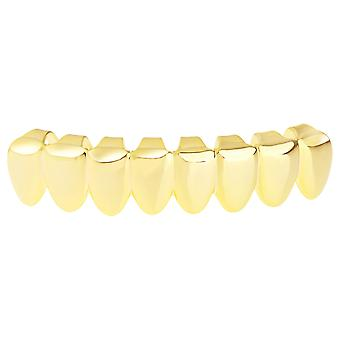 Grillz - gold - one size fits all - 8's BOTTOM TEETH