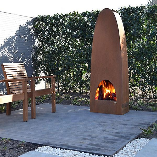 Zeno Colonna Outdoor Fireplace