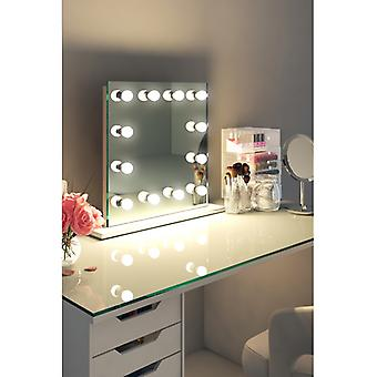 Diamond X Table Top Hollywood make-up spiegel met dimbare LED k411CW