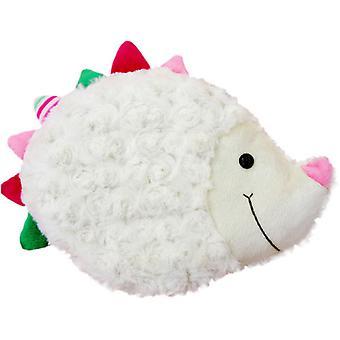 Children's Faux Fur & Fleece Cherry Pit Pillow: Hedgehog