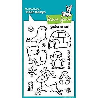 Lawn Fawn Clear Stamps Critters In the Snow (LF312)