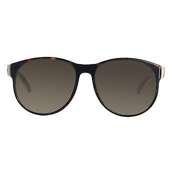 Gucci Havana Brown Ladies Sunglasses - GG0271S-002
