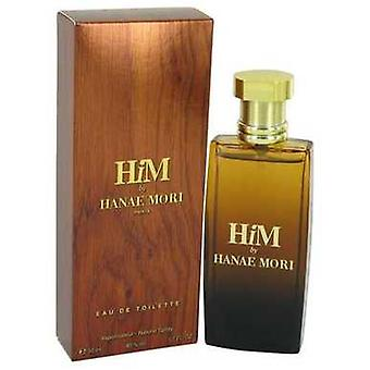 Hanae Mori Him By Hanae Mori Eau De Toilette Spray 1.7 Oz (men) V728-540312