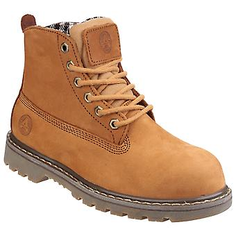 Amblers Safety Womens FS103 Goodyear Welted Lace Up Ladies Safety Boot
