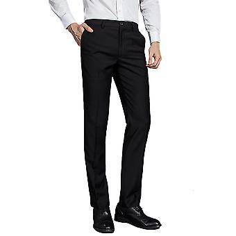 Pantaloni Allthemen Men's Suit Nero Four Seasons Lavoro Abito Business Suit Pantaloni