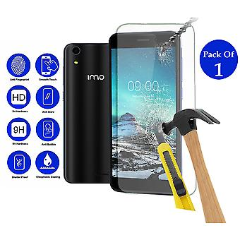 Pack of 1 Tempered Glass Screen Protection For Imo Q3 Plus 5