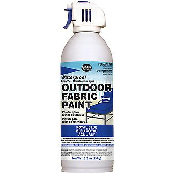 Outdoor Spray Fabric Paint 13.3oz-Royal Blue OF0046-8M