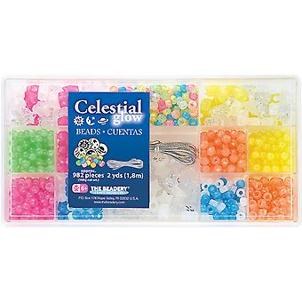 Bead Box Kit 982 Beads Pkg Celestial Glow B6523