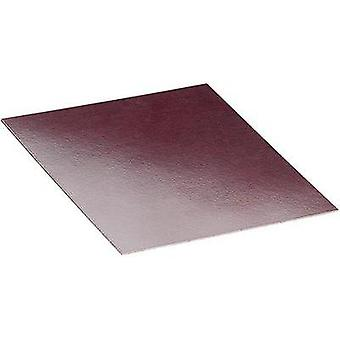Mounting plate (L x W x H) 200 x 250 x 2 mm Phenolic paper Brown Proma 1 pc(s)
