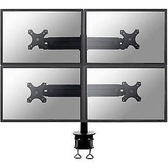 4 x Monitor desk mount 48,3 cm (19) - 76,2 cm (30) Swivelling/tiltable, Swivelling NewStar Products