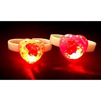 Flashing Heart Bracelet