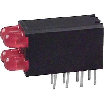 LED component Red (L x W x H) 18.54 x 12.57 x 6.6 mm Dialight