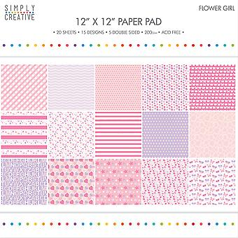 Simply Creative Paper Pad 12
