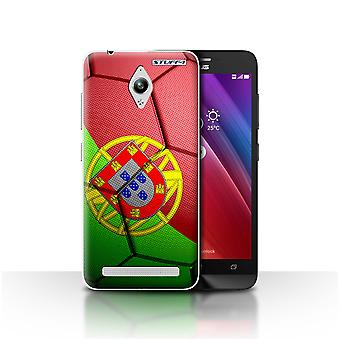 STUFF4 Case/Cover for Asus Zenfone Go ZC500TG/Portugal/Football Nations