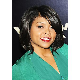 Taraji P Henson At Arrivals For New YearS Eve Tribeca Film Institute Benefit Screening The Ziegfeld Theatre New York Ny December 7 2011 Photo By Desiree NavarroEverett Collection Photo Print