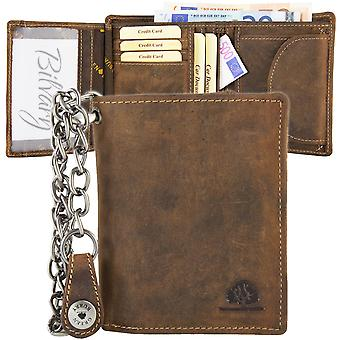 Greenburry vintage chain leather of biker wallet 1796A-S-25