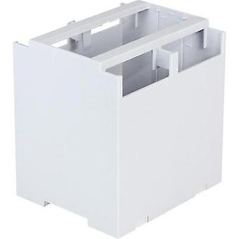 DIN rail casing 106.2 x 100 x 114.05 Polycarbonate (PC) Grey Axxatronic 1 pc(s)