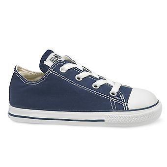 CONVERSE Chuck Taylor All Star Ox Infant Kids Trainer - Navy Blue
