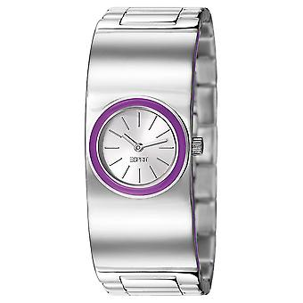 ESPRIT ladies watch wristwatch Mono Lucent violet ES106242003