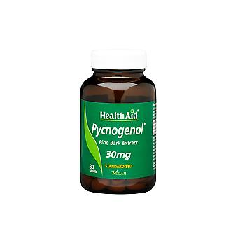 Health Aid Pycnogenol Extract 30mg - Standardised ,  30 Tablets