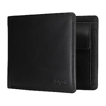 Bugatti Simbiosi men's apparent bag purse wallet purse black 5184